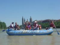 Paseos en barca por el Ebro