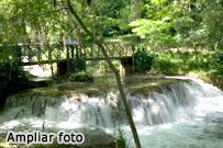 Foto de cascada del Monasterio de Piedra